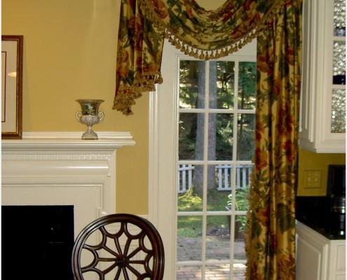 Экстравагантные асимметричные шторы