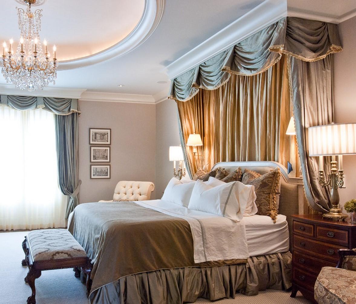 Балдахін - прикраса спальні