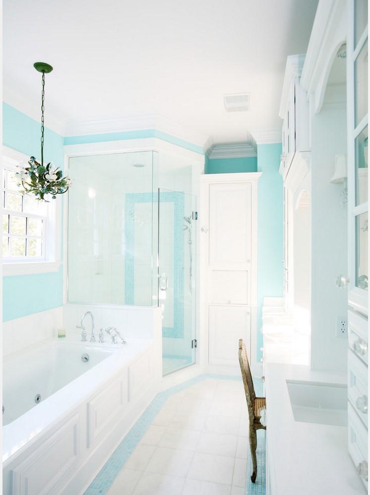 Для небольшой комнаты будет достаточно двух сочетаемых цветов ненасыщенных оттенков