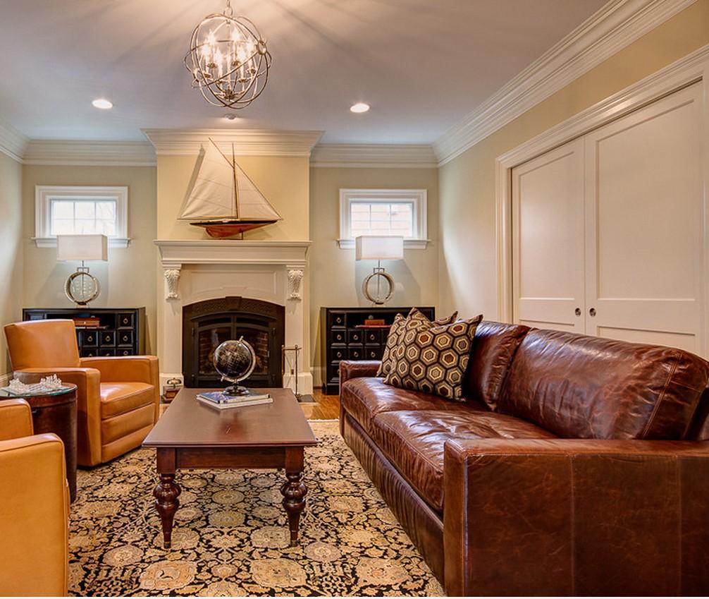 Как почистить кожаный диван: темный и светлый, уход и гигиена