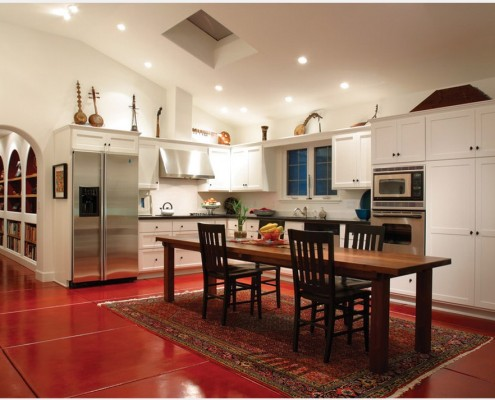 Характерные цвета кухни модерн