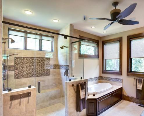 Подвесной потолок ванной комнаты