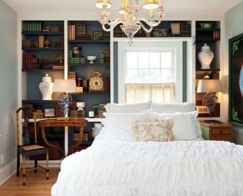 Вариант расположения кровати