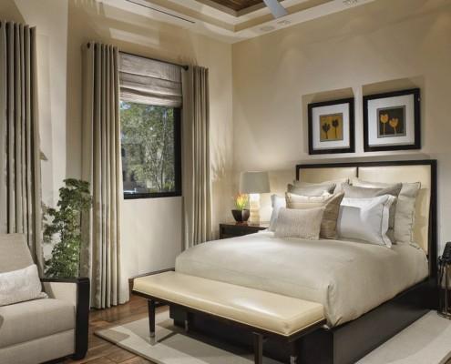 Римские шторы прекрасно комбинируются с другими видами штор