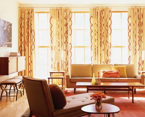 Комнатные фасадные шторы