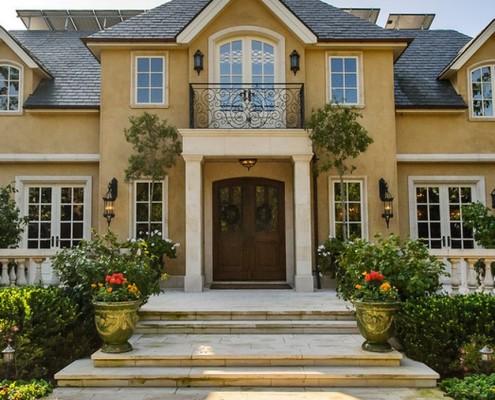 Фасад в стиле прованс