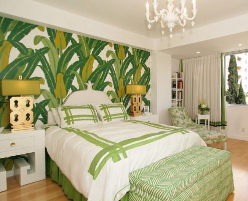 Цветовая палитра в тропическом стиле