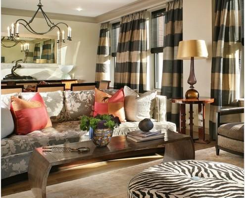 Цвет в гармонии с стилем комнаты