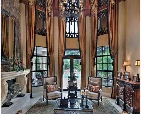 Для каждой формы окна своя модель штор