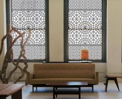 Этнос в дизайне штор