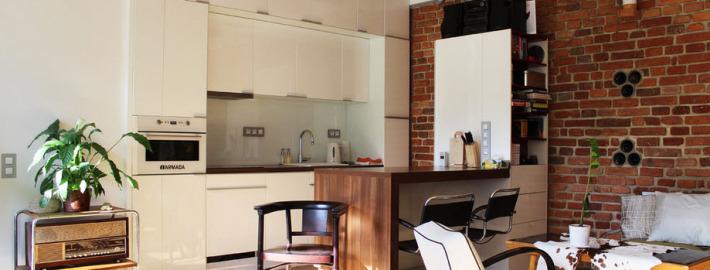 Кухня студия: вперёд в будущее