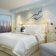 Нежно-голубой для спальн