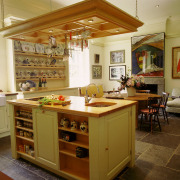 Кухонная мебель определяет функциональные зоны