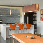 Гармоничная простота дизайна кухни