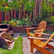 Необычная садовая мебель