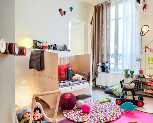 Коврик в детской комнате