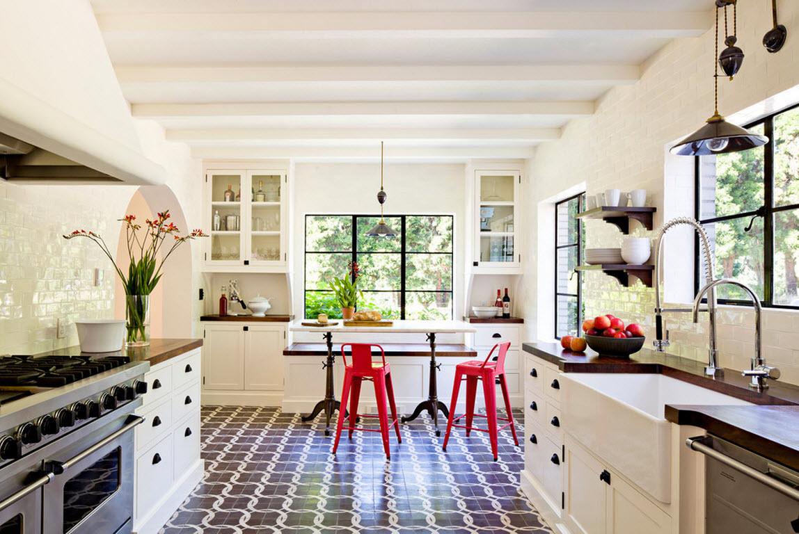Креативное оформление кухонных зон