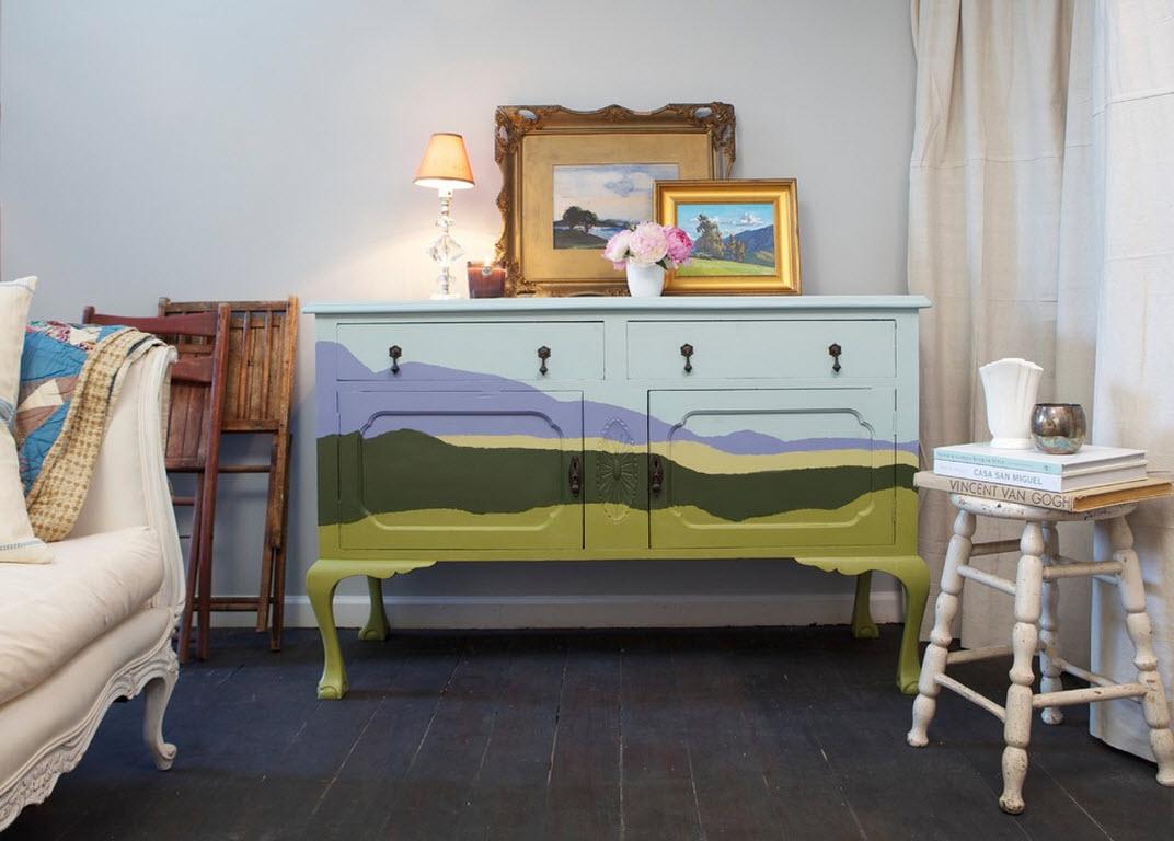 Искусство декорирования мебели