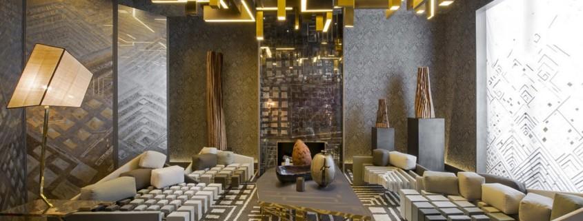 Ультра-современная гостиная