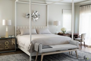 Современная классика в спальне
