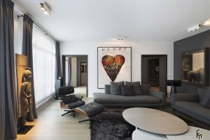 Эклектика в современной гостиной
