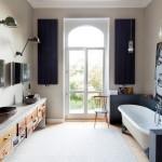 Дизайн-проекты ванных комнат в стиле лофт