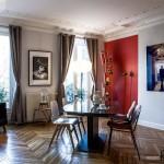 Колоритный дизайн одной парижской квартиры