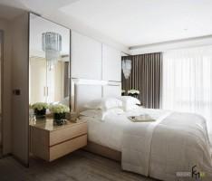 Спальня скромных размеров