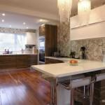 50 простых решений для кухонных обоев