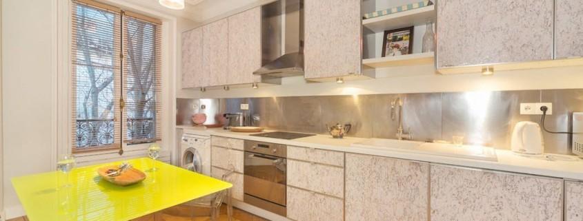 Дизайн кухни больших размеров