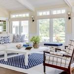 Романтичный морской стиль – проект одного загородного дома