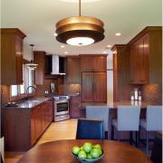 Освещение кухонных зон