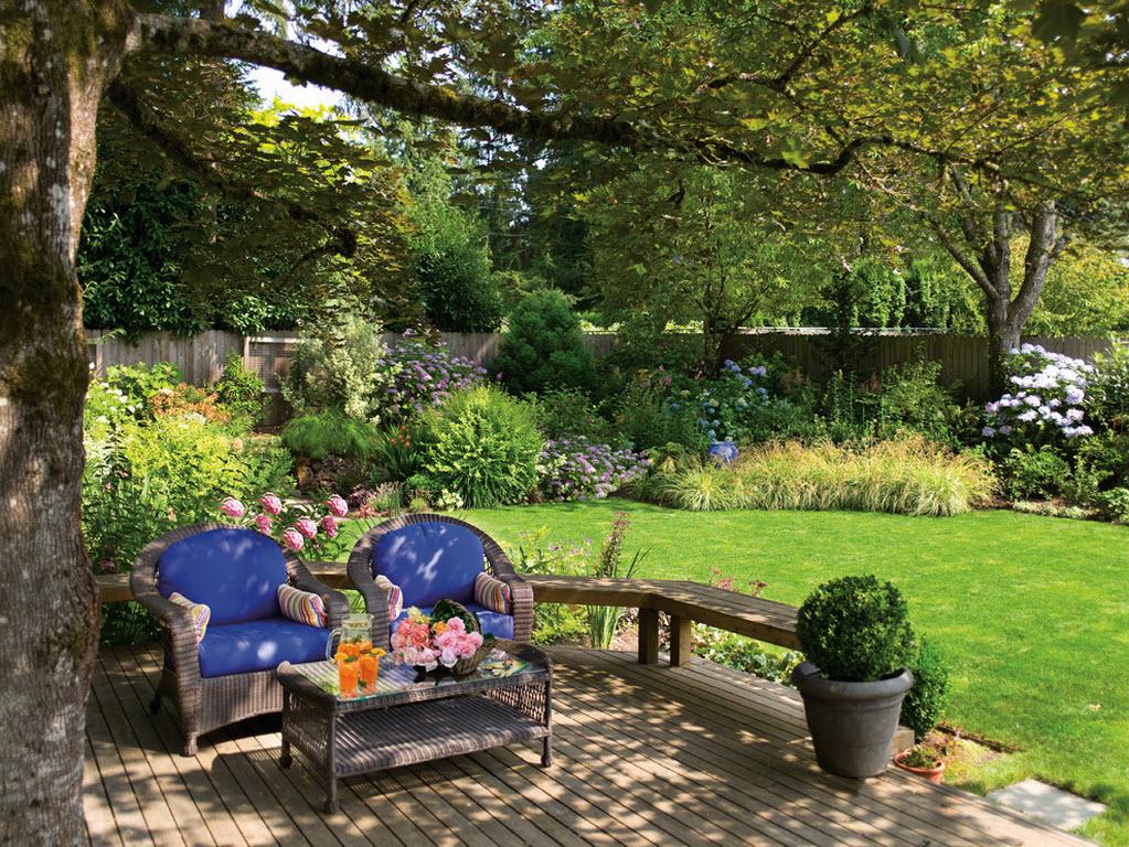 Роскошная садовая мебель