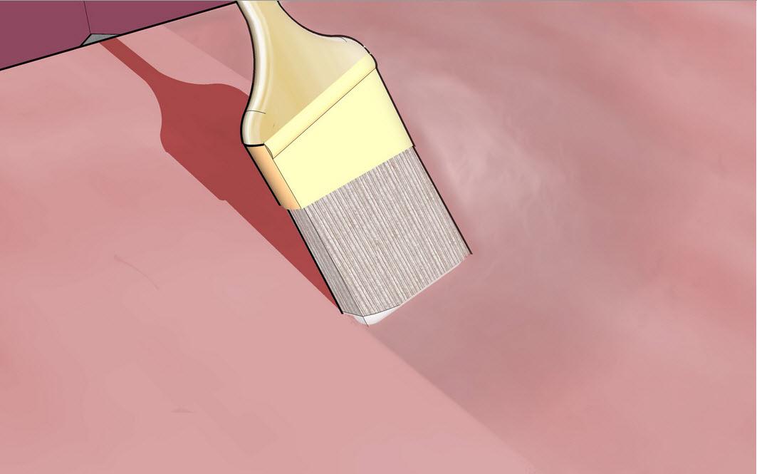 Лак или герметик как защитный слой краски