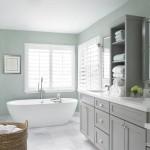 Уютная ванная без унитаза: свет, цвет и форма…