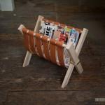 Удобная подставка для журналов: еще одна идея для домашней мастерской