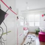 Использование белого цвета для оформления детской комнаты