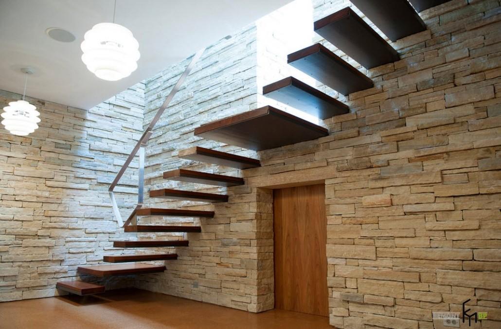 Лестница в лофт-интерьере