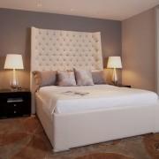 Спинка кровати как декоративный элемент