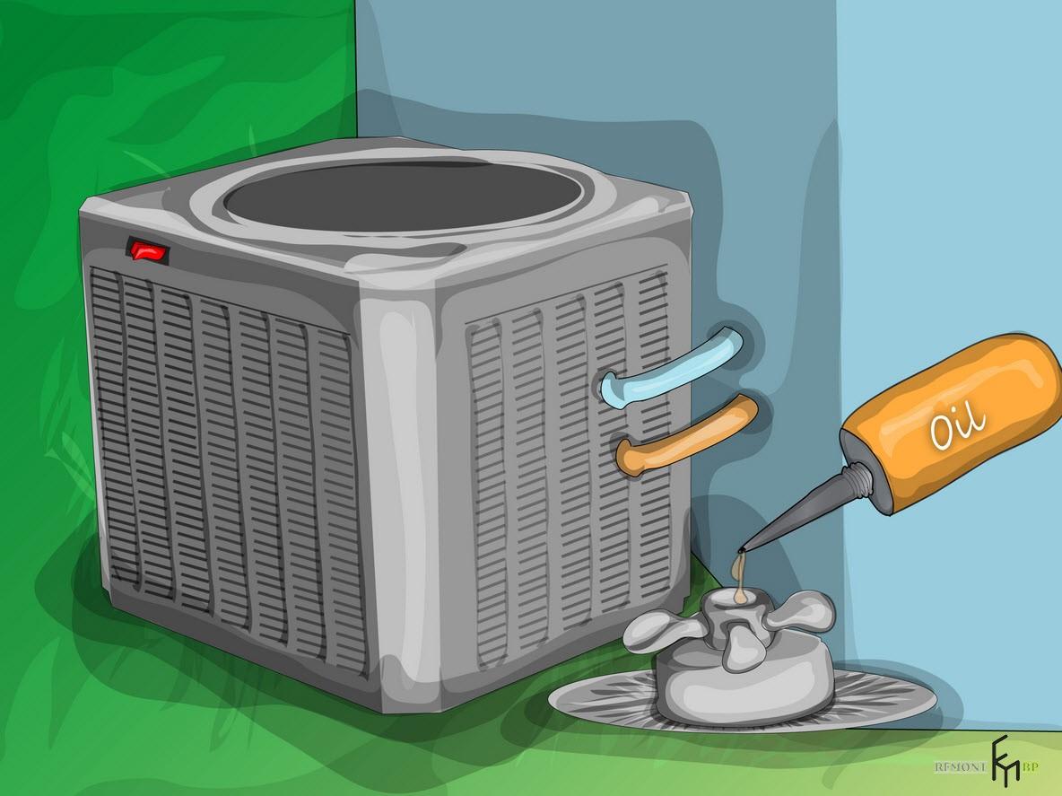 Второйспособ чистки кондиционера, четвертый шаг