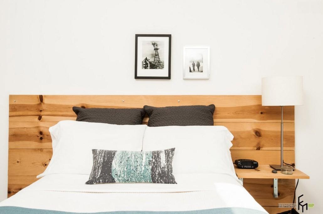 Деревянное изголовье для кровати своими руками 48