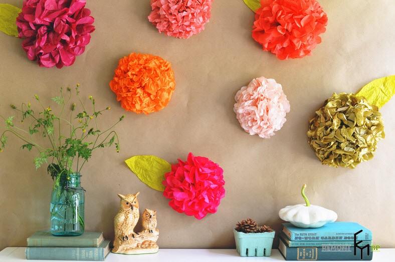 Декорирование цветов своими руками
