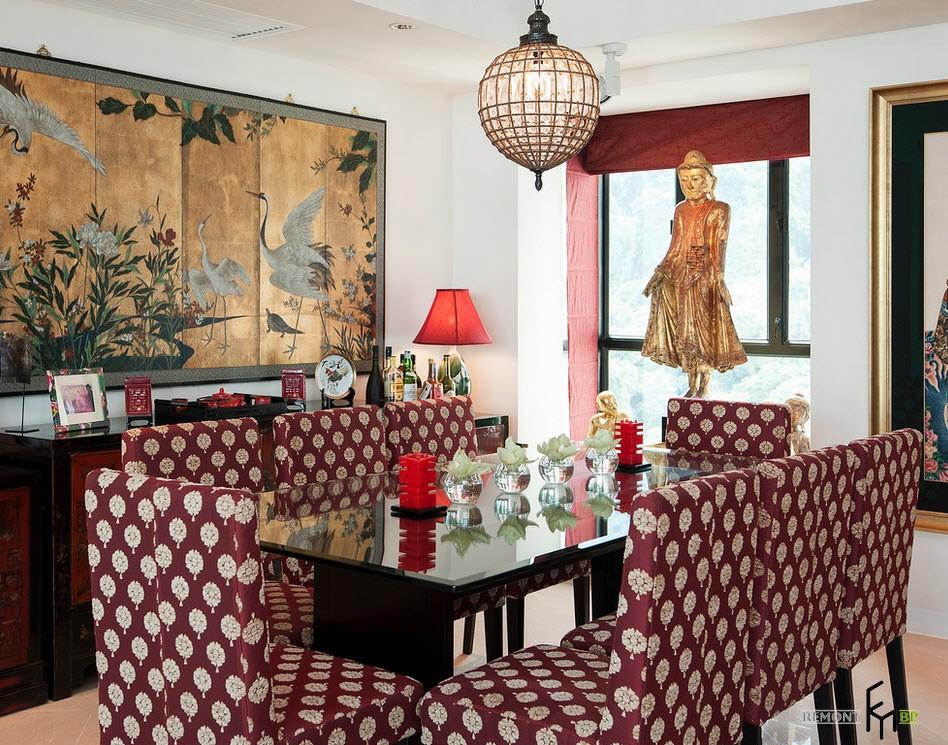 Квартира в китайском стиле Гонконг