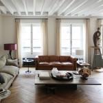 Двухуровневая квартира в старом парижском доме