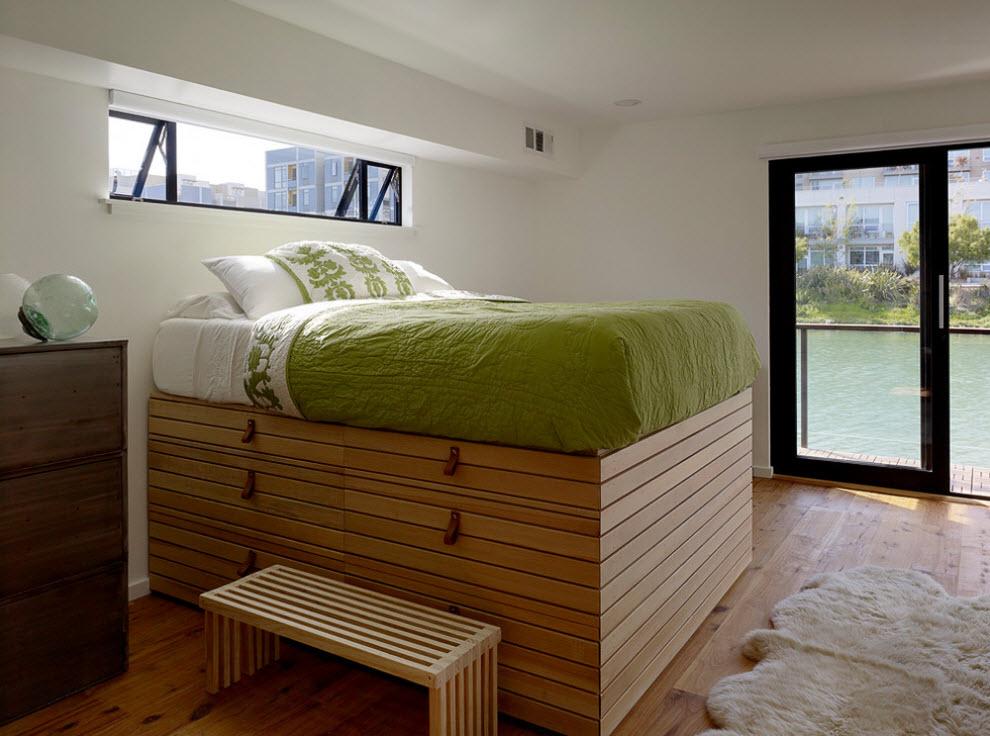 Высокая кровать-чердак