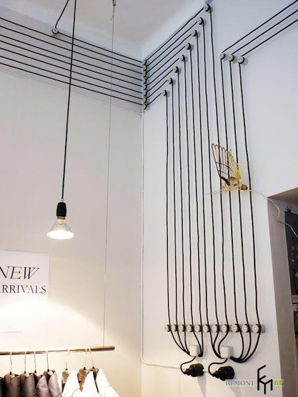 Декоративный комплекс из вертикальных и горизонтальных составляющих