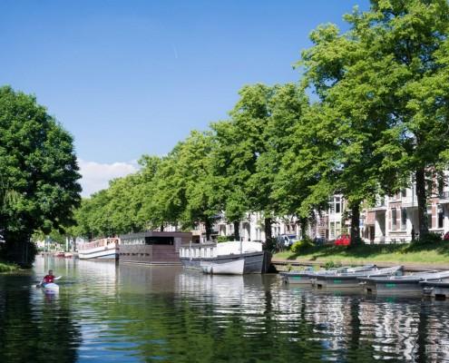 Плавающий дом в Нидерландах