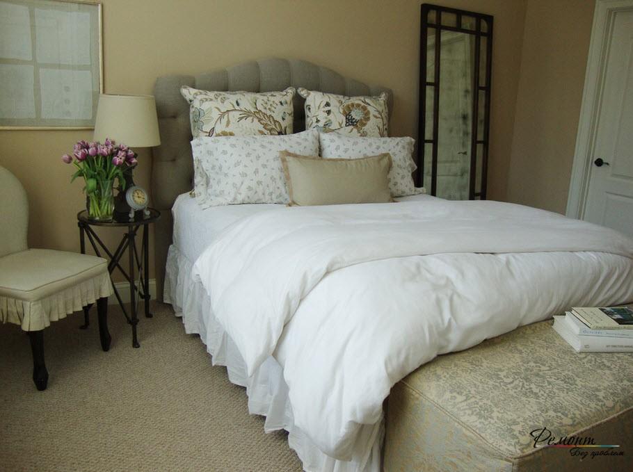 Детали, создающие стиль прованс в небольшой комнате