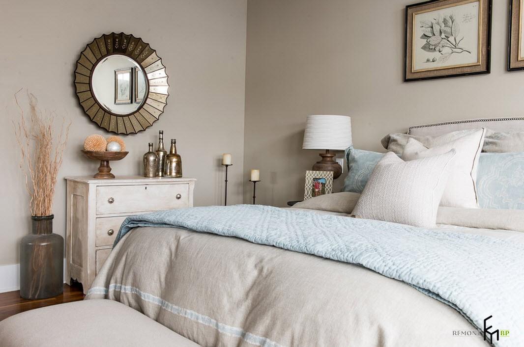 Восточное направление для интерьера спальни
