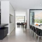 Столовая комната в стиле модерн для творческих людей